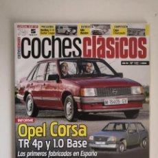 Coches: REVISTA COCHES CLASICOS Nº 182 OPEL CORSA BMW 3.0 S CHRYSLER WINDSOR CONVERTIBLE BENTLEY BARKER. Lote 229043275