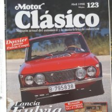 Coches: REVISTA MOTOR CLÁSICO ABRIL 1998 Nº 123. Lote 230085665