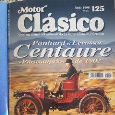 Coches: REVISTA MOTOR CLÁSICO JUNIO 1998 Nº 125. Lote 230085965