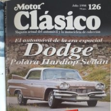 Coches: REVISTA MOTOR CLÁSICO JULIO 1998 Nº 126. Lote 230086145