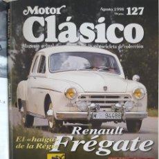Coches: REVISTA MOTOR CLÁSICO AGOSTO 1998 Nº 127. Lote 230086210