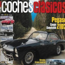 Coches: COCHES CLÁSICOS Nº 13 AÑO II. PEGASO Z 102 COUPE SAOUTCHIK. HISTORIA FORD FIESTA. Lote 231064205