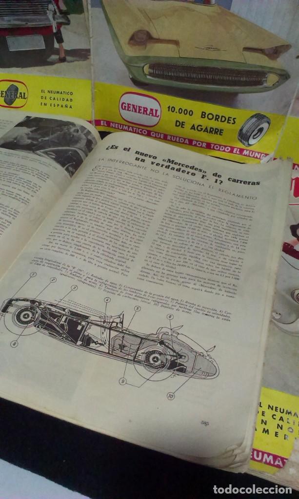 Coches: GRAN LOTE DE LA REVISTA - MOTOR MUNDIAL - AÑOS 50 - Foto 10 - 231669270