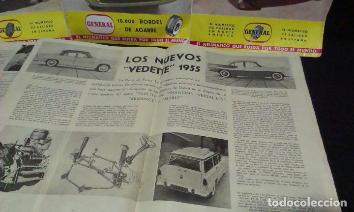 Coches: GRAN LOTE DE LA REVISTA - MOTOR MUNDIAL - AÑOS 50 - Foto 11 - 231669270
