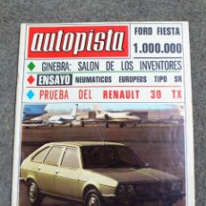 Coches: REVISTA AUTOPISTA Nº 1.036 DE 14.ENERO.1979. Lote 231748490