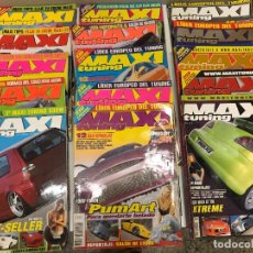 Coches: LOTE 20 REVISTAS MAXI TUNNING. Lote 232760223
