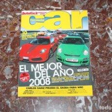 Carros: REVISTA FORMULA CAR. NUM 6. ESPECIAL 2008. JAGUAR, AUDI, FERRARI, BMW, ... 162 PAGINAS. MOTOR. COCHE. Lote 233005625