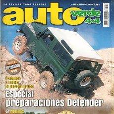 Carros: AUTO VERDE 4X4 Nº 167 KIA SORENTO 2.5 CRDI LAND ROVER DEFENDER PREPARACIONES TOYOTA LAND CRUISER. Lote 233992995