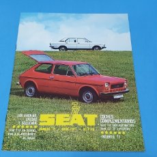Coches: REVISTA SEAT - NÚMERO 121 - ABRIL 1977. Lote 234657095