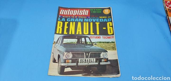 REVISTA AUTOPISTA - NÚMERO 533 - ABRIL 1969 (Coches y Motocicletas Antiguas y Clásicas - Revistas de Coches)