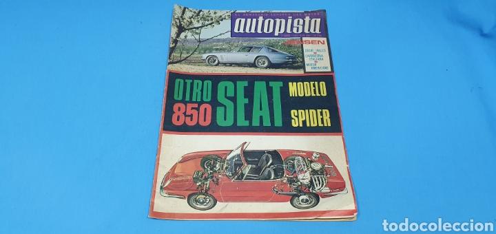 REVISTA AUTOPISTA - NÚMERO 434 - JUNIO 1967 (Coches y Motocicletas Antiguas y Clásicas - Revistas de Coches)