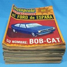 Coches: LOTE DE REVISTAS AUTOPISTA - AÑO 1974 COMPLETO. Lote 235043825