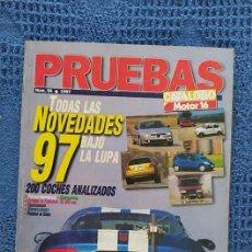 Coches: MOTOR 19 CATÁLOGO PRUEBAS 1997 NÚMERO 56 CON 212 PÁGINAS. Lote 235468085