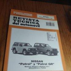 Coches: REVISTA TÉCNICA DEL AUTOMÓVIL. 3. 1993. PATROL Y PATROL GR DIESEL 6 CIL. 2.8 I (ATMOSFÉRICO Y TURBO). Lote 236273700