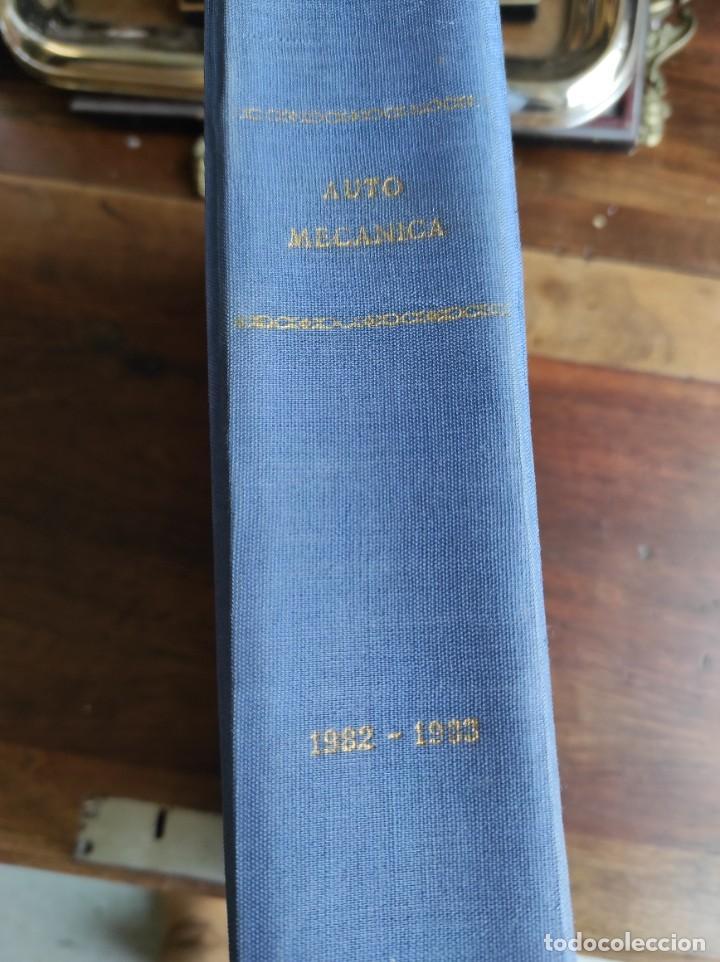REVISTA AUTOMECANICA 1982-1983 (Coches y Motocicletas Antiguas y Clásicas - Revistas de Coches)