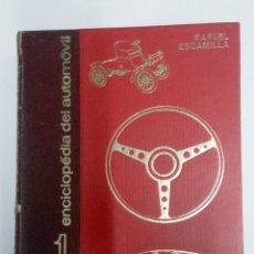 Coches: VOLANTE - ENCICLOPEDIA DEL AUTOMOVIL-LOS PRIMEROS 25 FASCÍCULOS - ENCUADERNADOS +500 PAG -1969. Lote 237024965