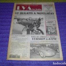 Coches: LA VIE DE L'AUTO Nº646 - 1994 - BUGATTI -. Lote 238493445