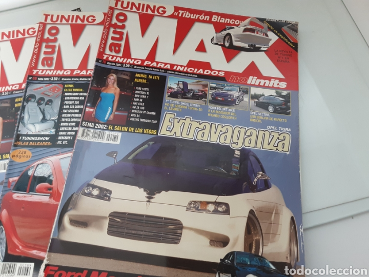 Coches: Lote 4 revistas Tuning - Foto 1 - 242489230