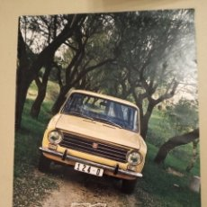 Coches: 1971 REVISTA SEAT N 52 SUMARIO. Lote 242861590