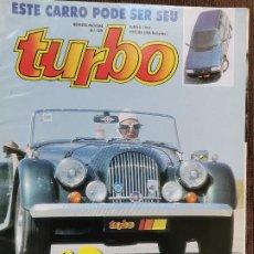 Coches: 1992 REVISTA TURBO - ESPECIAL CABRIOLETS - FORD ESCORT RS COSWORTH - ALFA 155 Q4 - LANCIA DEDRA. Lote 243442520