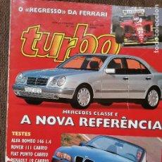 Coches: 1995 REVISTA TURBO - ESPECIAL CABRIOS - ALFA ROMEO 146 1.4 - ROVER 111 CABRIO - BMW Z3. Lote 243607535