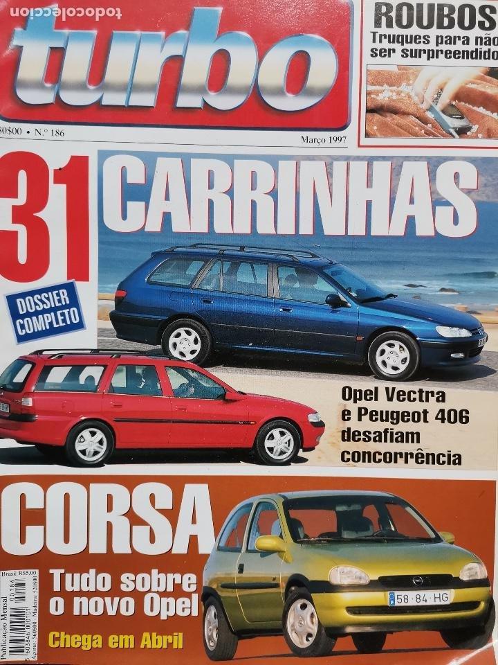 1997 REVISTA TURBO - NISSAN PRIMERA GT - HONDA PRELUDE 2.2 VTI - CITROEN SAXO FIRST - SEAT IBIZA 1.9 (Coches y Motocicletas Antiguas y Clásicas - Revistas de Coches)