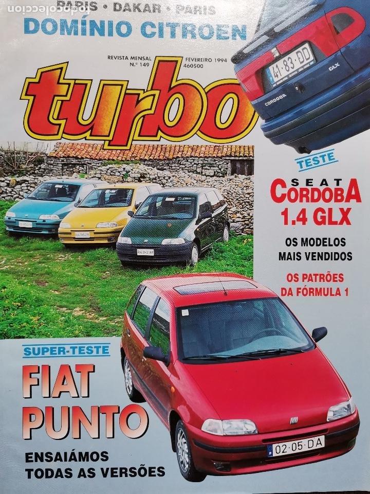 1994 REVISTA TURBO - SEAT CORDOBA 1.4 GLX - FIAT PUNTO - PARIS DAKAR (Coches y Motocicletas Antiguas y Clásicas - Revistas de Coches)