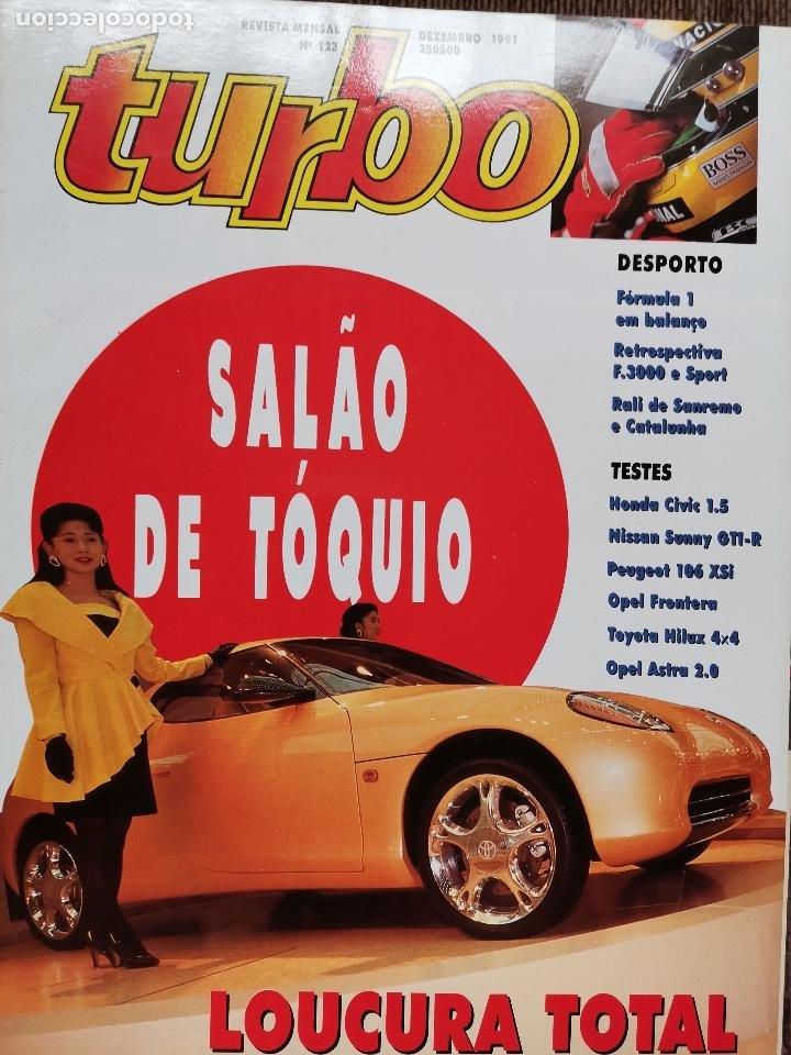 1991 REVISTA TURBO - RALLY SANREMO Y CATALUÑA - NISSAN SUNNY GTI R - TOYOTA HILUX 4X4 (Coches y Motocicletas Antiguas y Clásicas - Revistas de Coches)