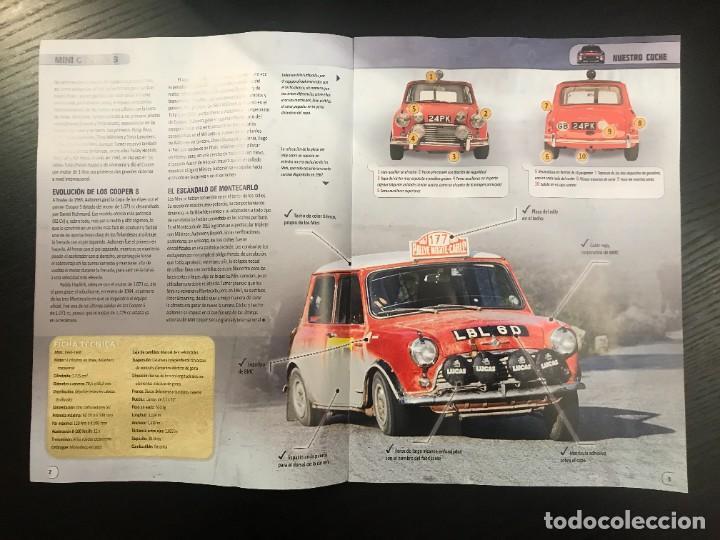 Coches: MINI COOPER S 1967 - R. AALTONEN - FASCICULO Nº 85 - LOS MAS GRANDES COCHES DE RALLY RALLYE - Foto 2 - 243773610