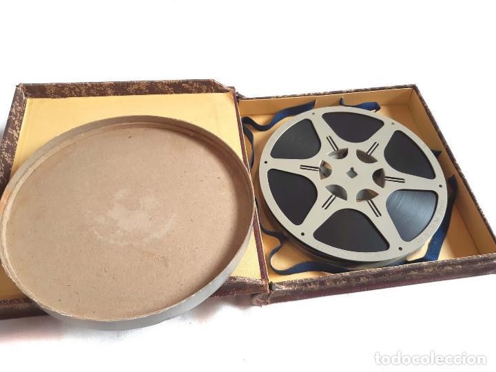 Coches: Película sonora del NODO en 16 mm. Imágenes Nº 412, Escenas de Caza. Con funda de Piel. - Foto 9 - 243856520