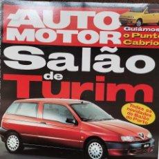 Coches: 1994 REVISTA AUTO MOTOR - MASERATI QUATTROPORTE - MUERTE AYRTON SENNA - DISCOVERY VS LAND CRUISER. Lote 244910450
