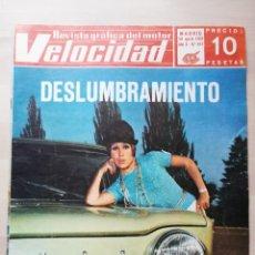Coches: VELOCIDAD Nº 416 (30 DE AGOSTO DE 1969) - COPA TS, OSSA 250 ENDURO, SIMCA 1000 EN PORTADA. Lote 245072045
