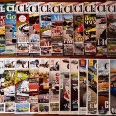 Coches: LOTE 31 NUMEROS REVISTA 'MOTOR CLASICO' - NUEVAS A ESTRENAR. Lote 245118560