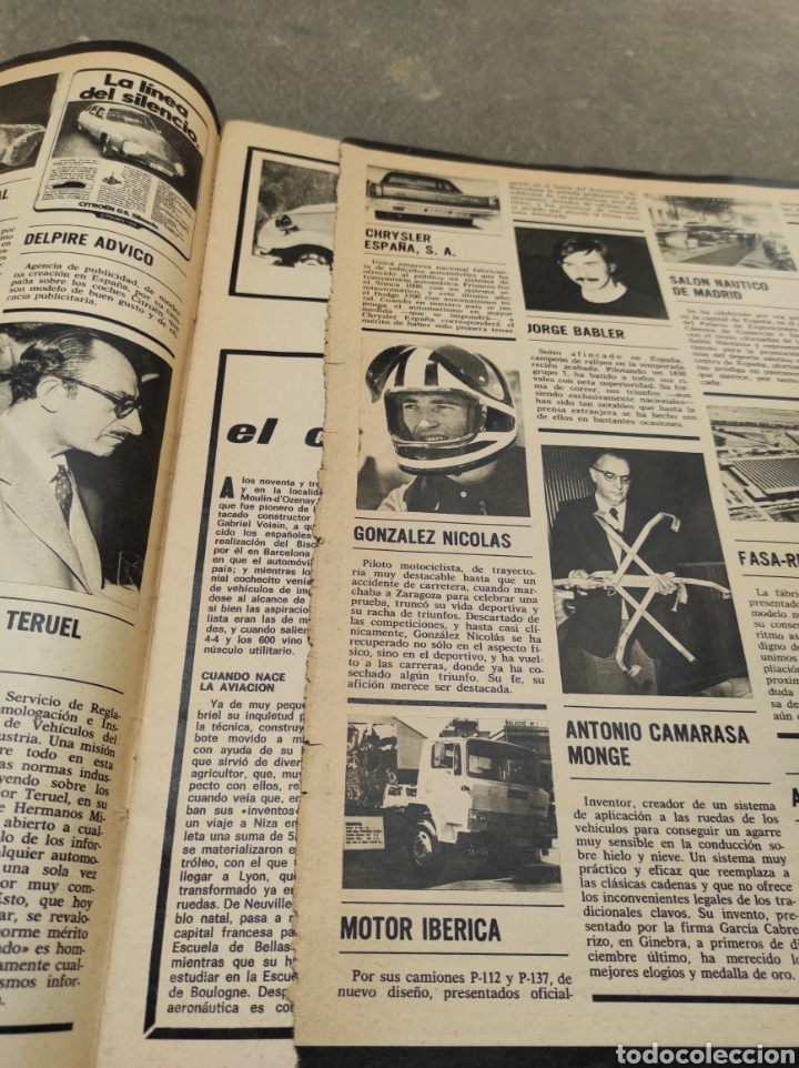 Coches: Revista Velocidad Nº643 - 1974 - Especial Prueba de Conducción Seat 127 - - Foto 6 - 245281880