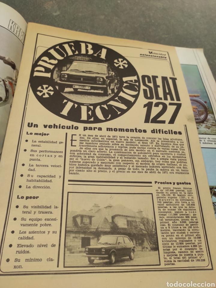 Coches: Revista Velocidad Nº643 - 1974 - Especial Prueba de Conducción Seat 127 - - Foto 10 - 245281880
