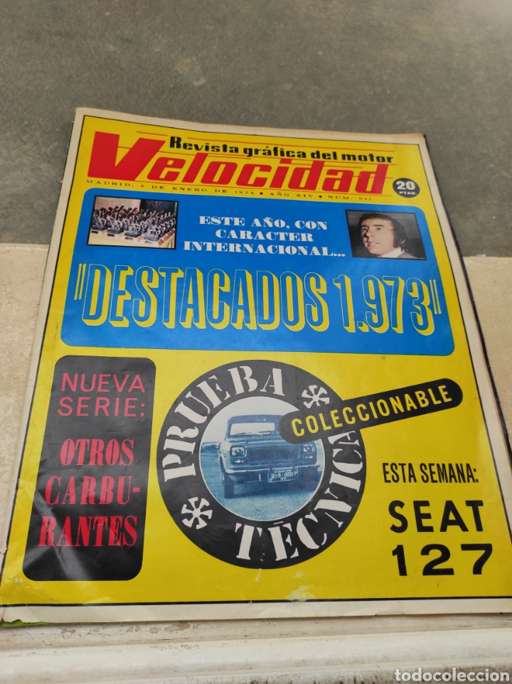 REVISTA VELOCIDAD Nº643 - 1974 - ESPECIAL PRUEBA DE CONDUCCIÓN SEAT 127 - (Coches y Motocicletas Antiguas y Clásicas - Revistas de Coches)