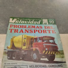 Coches: REVISTA VELOCIDAD Nº353 - 1968 - SEAT 850 ESPECIAL - TRASPORTE PEGASO - SAVA - BARREIROS - AVIA -. Lote 245284190