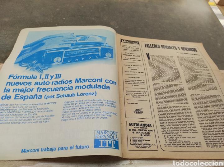 Coches: Revista Velocidad Nº458 - 1970 - Muerte Santiago Herrero - 24 Horas Le Mans - Jarama - Publi Sava - - Foto 2 - 245286455