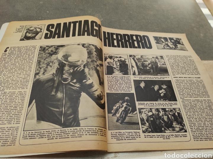 Coches: Revista Velocidad Nº458 - 1970 - Muerte Santiago Herrero - 24 Horas Le Mans - Jarama - Publi Sava - - Foto 3 - 245286455