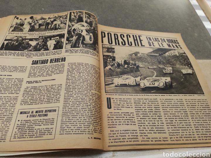 Coches: Revista Velocidad Nº458 - 1970 - Muerte Santiago Herrero - 24 Horas Le Mans - Jarama - Publi Sava - - Foto 4 - 245286455