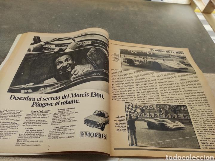Coches: Revista Velocidad Nº458 - 1970 - Muerte Santiago Herrero - 24 Horas Le Mans - Jarama - Publi Sava - - Foto 5 - 245286455