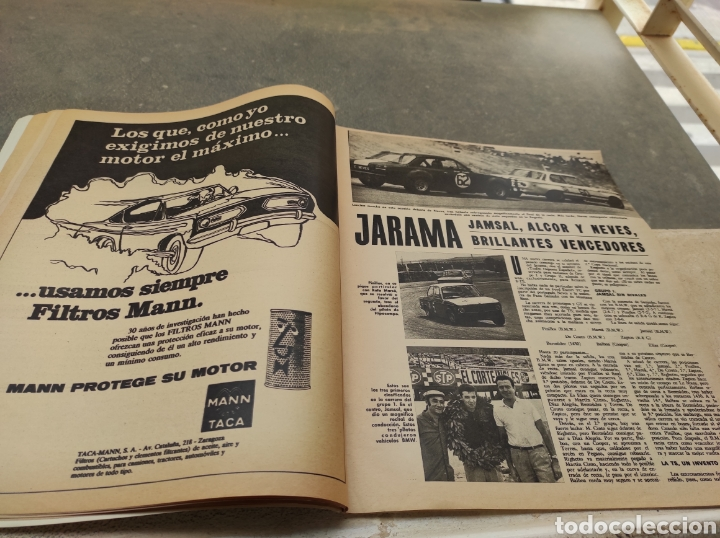 Coches: Revista Velocidad Nº458 - 1970 - Muerte Santiago Herrero - 24 Horas Le Mans - Jarama - Publi Sava - - Foto 6 - 245286455