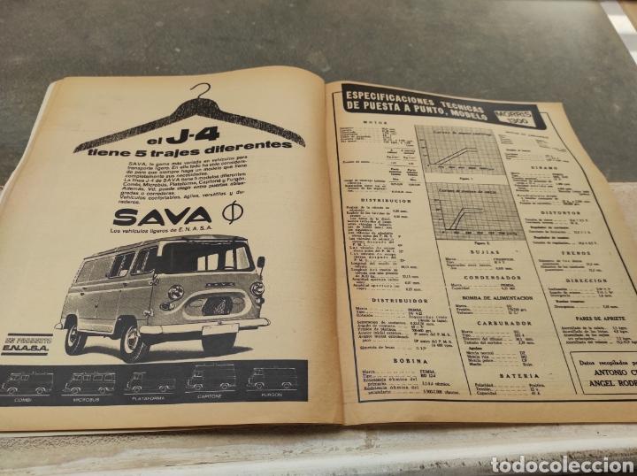 Coches: Revista Velocidad Nº458 - 1970 - Muerte Santiago Herrero - 24 Horas Le Mans - Jarama - Publi Sava - - Foto 9 - 245286455