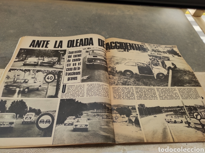 Coches: Revista Velocidad Nº458 - 1970 - Muerte Santiago Herrero - 24 Horas Le Mans - Jarama - Publi Sava - - Foto 10 - 245286455