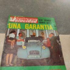 Coches: REVISTA VELOCIDAD Nº390 - 1969 - UNA GARANTÍA PARA TODOS LOS COCHES DE OCASIÓN - CAMIONES BARREIROS. Lote 245287840