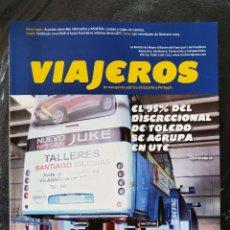 Coches: REVISTA VIAJEROS N 198 JULIO 2013 BAJADA VELOCIDAD BUSES TOLEDO UTE. Lote 245434735