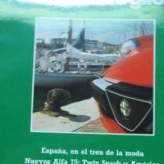 Coches: + QUADRIFOGLIO REVISTA ALFA ROMEO NUMERO 3 AÑO 1987. Lote 246019885