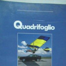 Coches: + QUADRIFOGLIO REVISTA ALFA ROMEO NUMERO 7 AÑO 1988. Lote 246020020