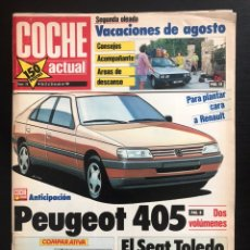 Coches: COCHE ACTUAL Nº 118 - FORD FIESTA TURBO RENAULT 5 GT TURBO FIAT UNO TURBO OPEL CORSA GSI RALLY. Lote 246073200
