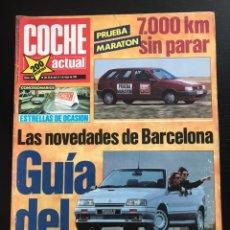 Coches: COCHE ACTUAL Nº 158 - FIAT TIPO 1.8 HONDA HAWK 650 SALON AUTOMOVIL BARCELONA. Lote 246074195